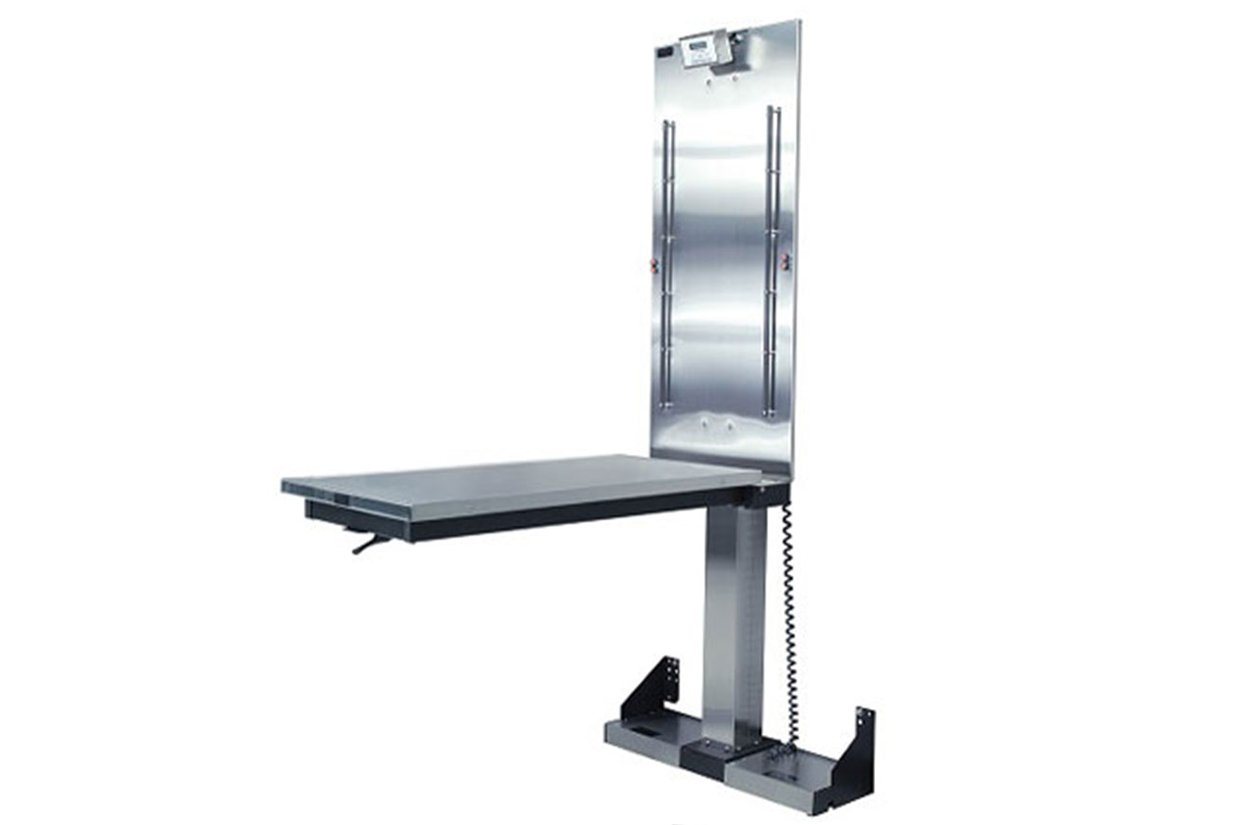 Animal Lift Table With Scale : Folding lift table
